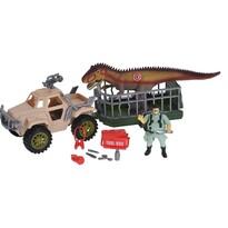 Dziecięcy zestaw do zabawy Dinosaur trailer, 4 elem.