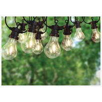 Vonkajšia LED reťaz Bulbo 10 žiaroviek, 7,5 m