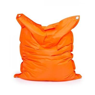 Sedací pytel s popruhy Orange 181 x 141 cm