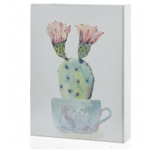 Obraz Kaktus Opuncie, 13 x 18 cm
