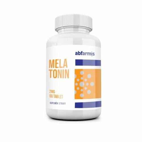 Abfarmis Melatonín 2 mg - 60 tbl.