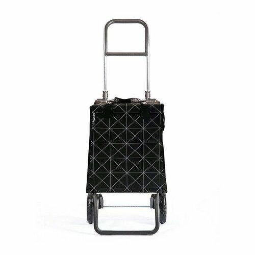 Rolser Nákupná taška na kolieskach BMik Star Logic RG, čierno-biela