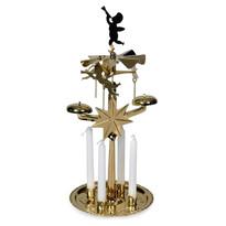 Suport îngerași cu clopoței DE Luxe auriu