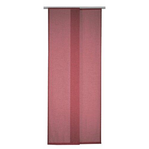 Albani Alex függönypanel, bordó, 245 x 60 cm