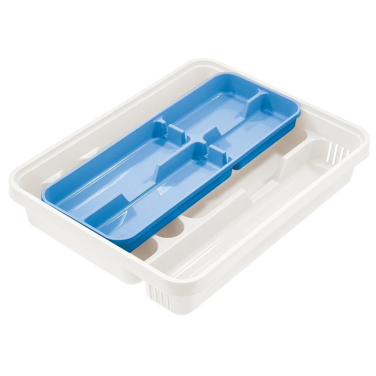 Tontarelli Příborník Mixy 2 díly krémová/světle modrá 8071122A7Q