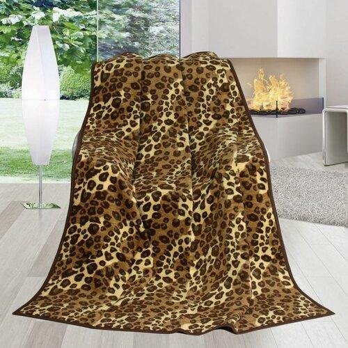 Pătură Karmela Plus, Blană de leopard, 150 x 200 cm
