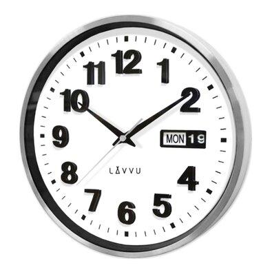 Lavvu LCT4050 kovové hodiny s ukazovateľom dátumu Date metal, 30 cm