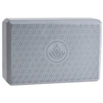XQ Max Akcesorium do ćwiczenia Yoga Block 23 x 15 x 8 cm, srebrny