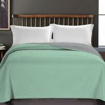 Cuvertură de pat DecoKing Axel verde, 220 x 240 cm