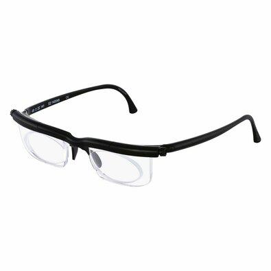 Nastavitelné dioptrické brýle Adlens, černá
