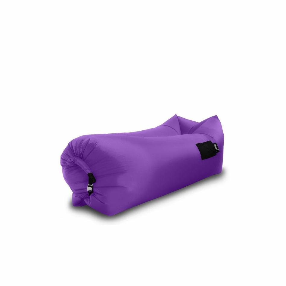 Sedací nafukovací vak BANANA BAG fialová