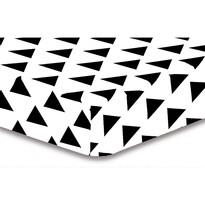 DecoKing Prześcieradło Triangles S1, 90 x 200 cm