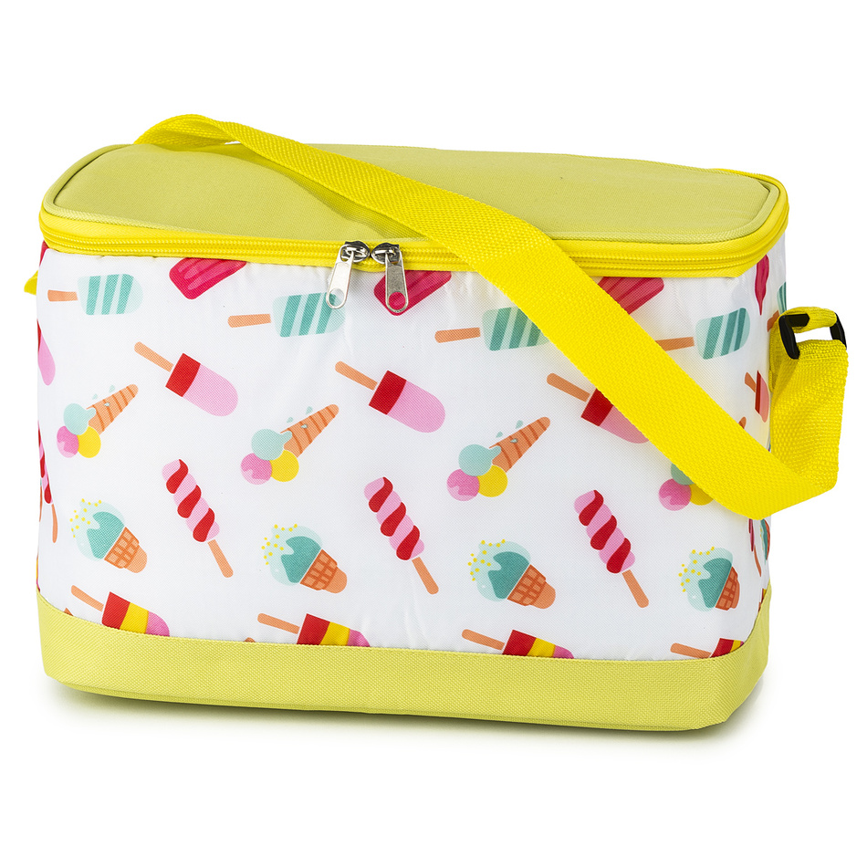 Chladící taška Cooler žlutá, 30 x 21 x 16 cm