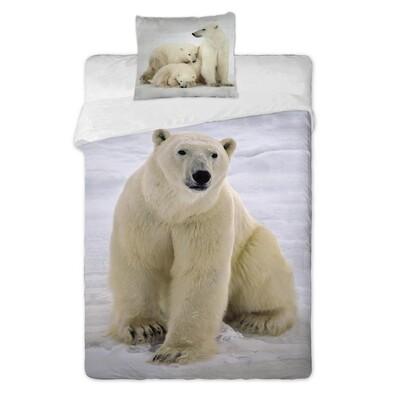 Bavlněné povlečení Medvědi, 140 x 200 cm, 70 x 90 cm