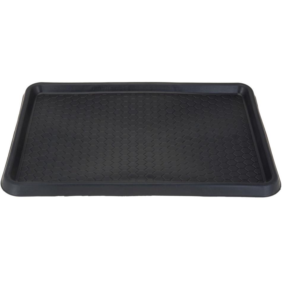 Fotografie Multifunkční rohožka do auta černá, 60 x 40 cm