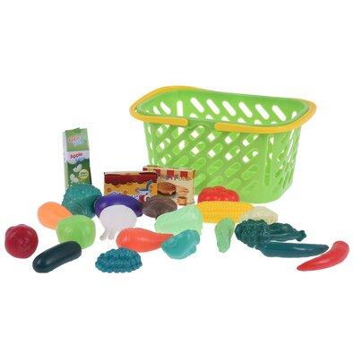Koopman Detský hrací set Ideme nakupovať, zelená