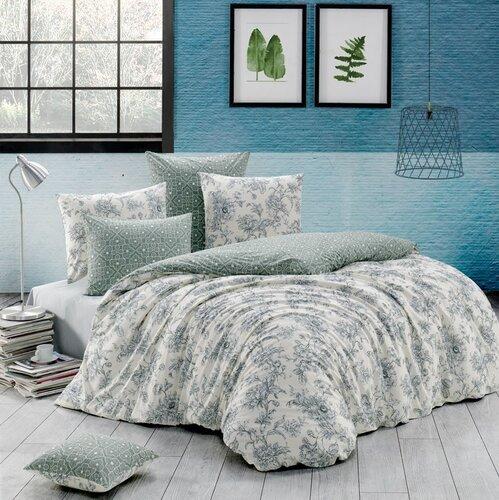 Estelita pamut ágynemű, tejszín, 220 x 200 cm, 2 db 70 x 90 cm