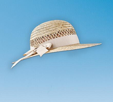 Dámský klobouk - slamák