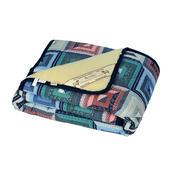 Vlněná deka Merino patchwork, 140 x 200 cm