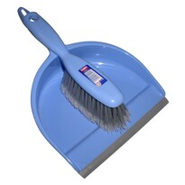 Toro Metlička a lopatka s gumovou lištou, modrá