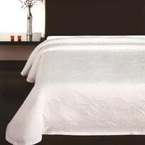 Floral ágytakaró, fehér