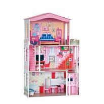 Woody Veľký domček pre bábiky Barbie, 74 x 116 cm