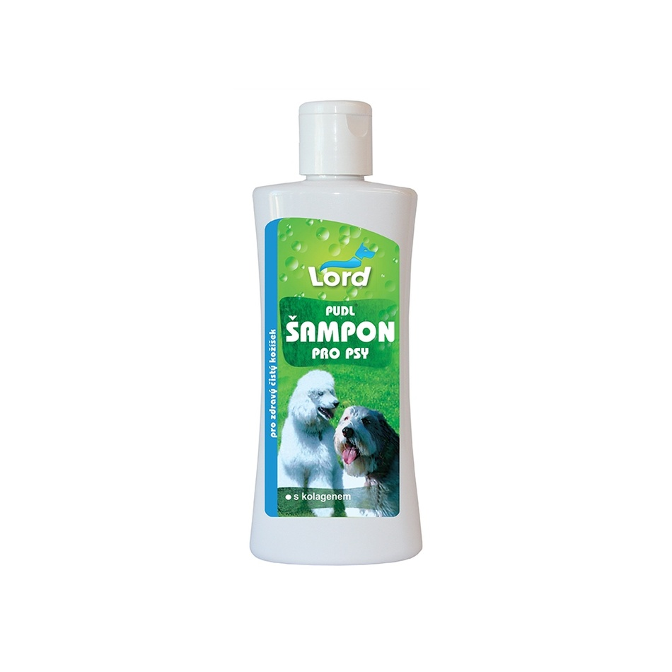 Fotografie Lord Pudl šampon pro psy s kolagenem 250 ml