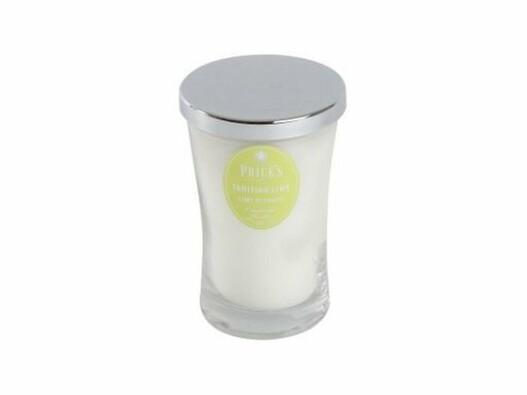 Price´s vonná svíčka ve skle Tahitská limeta13 cm