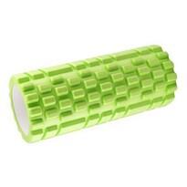 Fitness masážny valec zelená, 34 x 14 cm