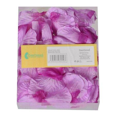 Dekorační okvětní lístky pr. 5 cm, 100 ks, fialová