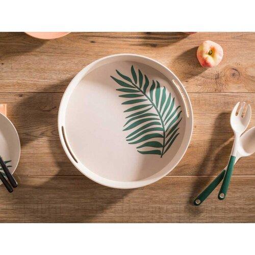 Tavă rotundă Altom Organic bamboo,30 x 4,5 cm