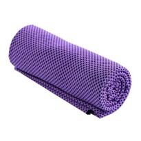 Chladicí ručník fialová, 32 x 90 cm
