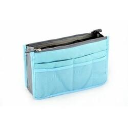 Kosmetický organizér do kabelky Modrá