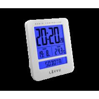 Budzik cyfrowy Lavvu Duo White LAR0020, 9,2 cm