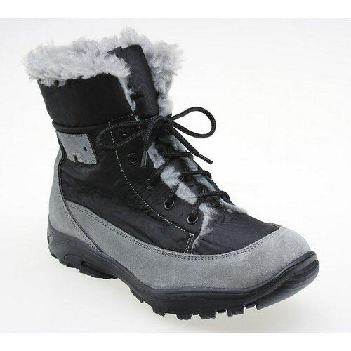 Santé Dámska obuv zimná  veľ. 39 čiernošedá