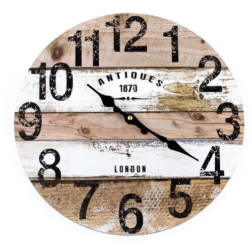 Nástenné hodiny Antiques, 34 cm