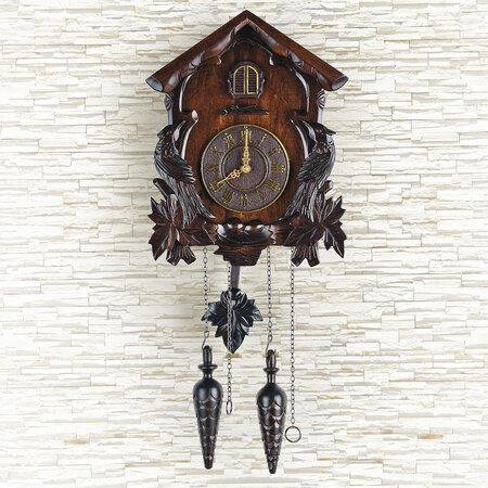 Nástěnné hodiny kukačky 33 x 22 x 15 cm