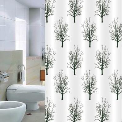 Sprchový závěs Pesaro Stromy, 180 x 200 cm