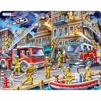 Larsen Puzzle Hasiči pri požiari, 45 dielikov