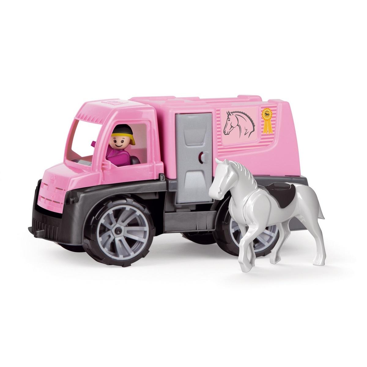 Mașină de transportat cai Lena Truxx, 26 cm imagine 2021 e4home.ro