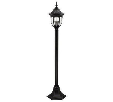 Venkovní stojací lampa na noze Rabalux Milano čern