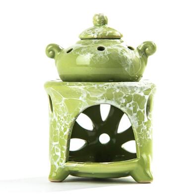 Kominek aromatyczny zielony. Możesz go użyć stosuj