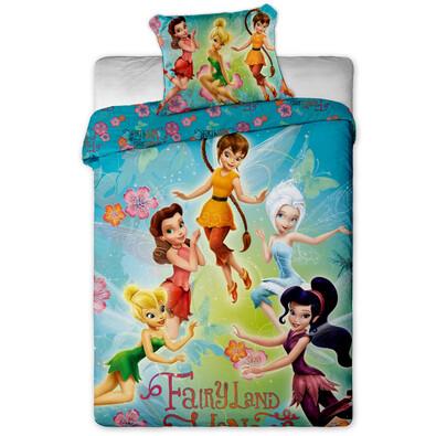 Dětské bavlněné povlečení Fairies 2014, 140 x 200 cm, 70 x 90 cm