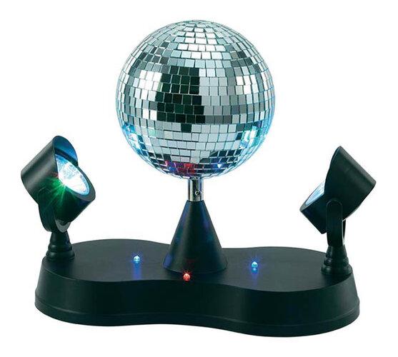 Diskotékové guľa s LED