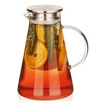 Carafă din sticlă 4Home cu capac Jug Hot&Cool, 1,8 l