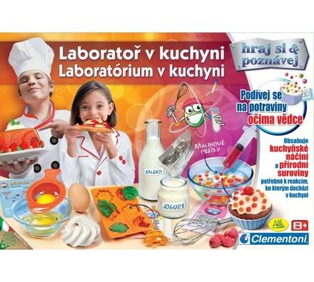 Hra Laboratoř v kuchyni Albi