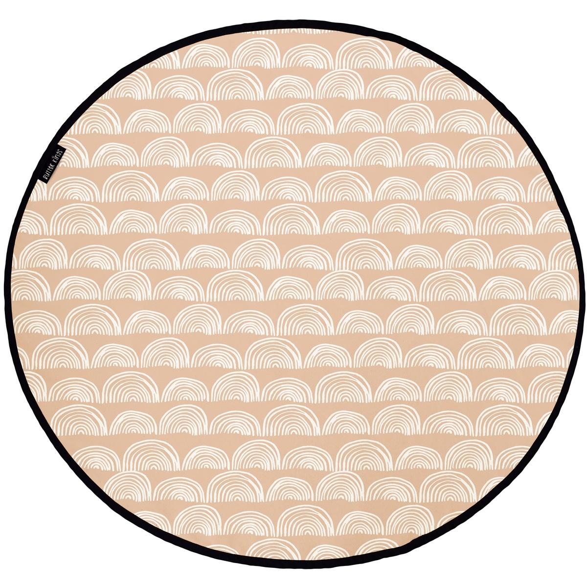 Butter Kings Bavlnený herný kobere Circles, 130 cm