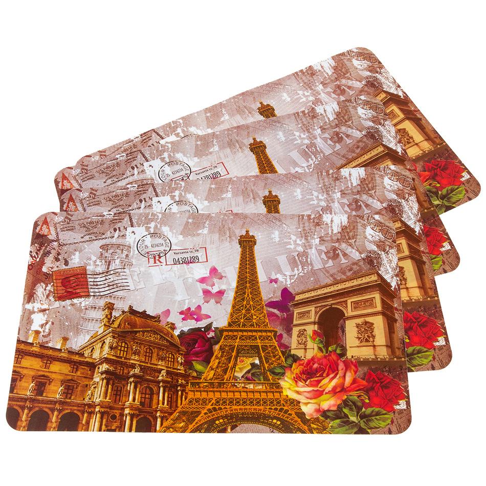 JAHU Prostírání Paris, 30 x 45 cm, sada 4 ks