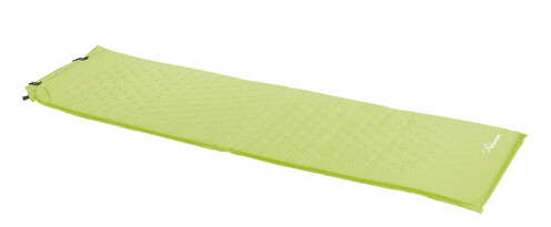 Samonafukovací karimatka zelená, 183 cm