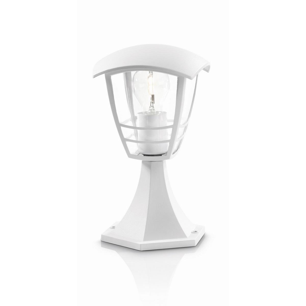 Philips 15382/31/16 Creek Vonkajšie stĺpikové svietidlo 30 cm, biela